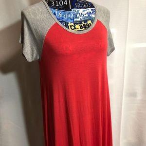 Dresses & Skirts - Baseball tee dress. Size small